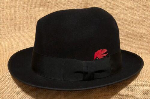 Vintage John B Stetson Western Cowboy Fedora Hat B