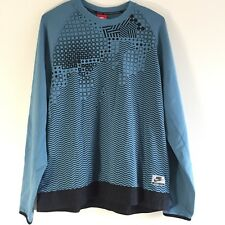 dee6c24a787d item 4 New Nike Int Men Sz L Fleece Crew Sweatshirt Blue 831103 055 Large   90 Retail -New Nike Int Men Sz L Fleece Crew Sweatshirt Blue 831103 055  Large  90 ...