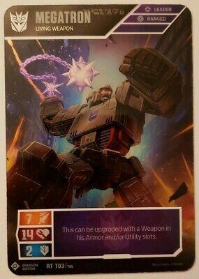 Legendary Warrior Transformers TCG Bumblebee Super Rare Wave 1 SRT T09//T40