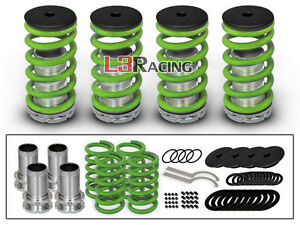 01-03 Acura CL Coupe COILOVER LOWERING COIL SPRINGS KIT GOLD