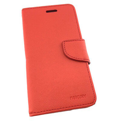 """BlackBerry Leap High Quality Leather Flip Wallet Case with Credit Card Slots 5"""""""
