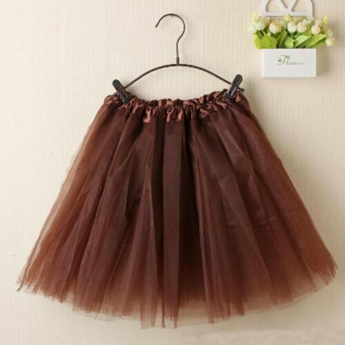 Fashion Tutu Mini Floral Skirt Womens Waist Elastic Lace Layered Ballet Organza qtHtzxrw