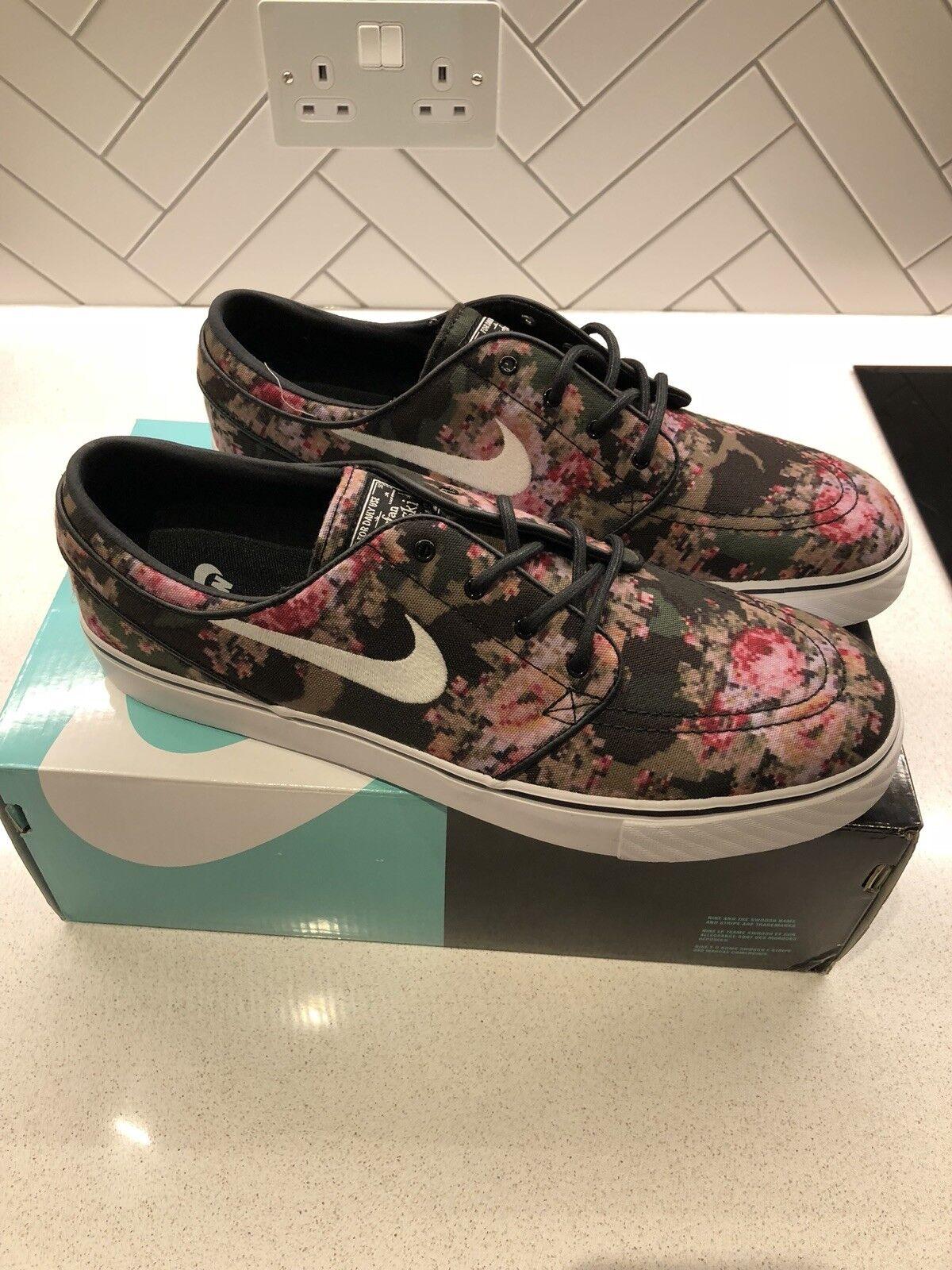Nike Zoom Boarding Stefan Janoski PR Premium Digi Floral Skate Boarding Zoom chaussures uk 9.5 ea9f49