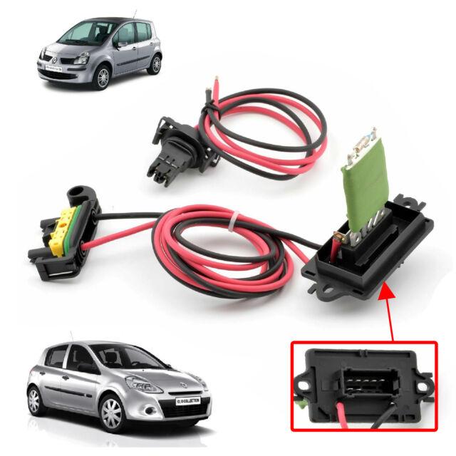 Resistenza di Riscaldamento Ventola Ventilazione per Renault Clio III E MODUS