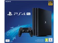 Artikelbild SONY Playstation 4 Pro 1TB Jet Black Standalone Konsole