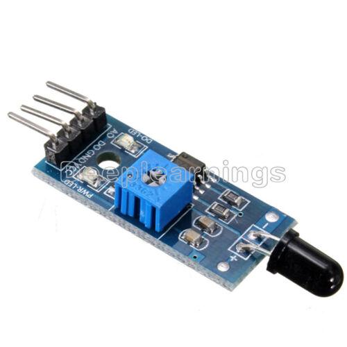 2PCS 4PIN Flame detection Sensor IR Infrared receiver control module