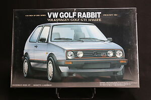 XA004-Fujimi-1-24-Model-Car-03206-800-VW-Golf-Gti-Rabbit-16V