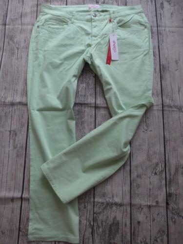 NEU Sheego Jeans Stoffhose Hose Gr 44-58 Kurzgröße Mint 398