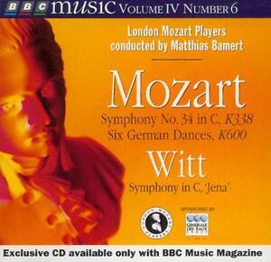 MOZART-SYMPHONY-NO-34-GERMAN-DANCES-K600-WITT-JENA-SYMPHONY-BBC-CD-1995