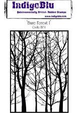 IndigoBlu A6 Rubber Stamp - Bare Forest