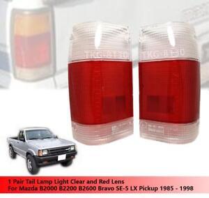 rear tail light lens lenses for mazda magnum b2000 b2200. Black Bedroom Furniture Sets. Home Design Ideas