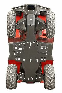 Details about Honda Rancher / Foreman Rubicon 500 420 IRS FA6 FA7 HDPE skid  plate Iron Baltic