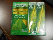 Dixon Ticonderoga 13872 Woodcase Pencil, HB #2, Yellow Barrel 192 count NEW
