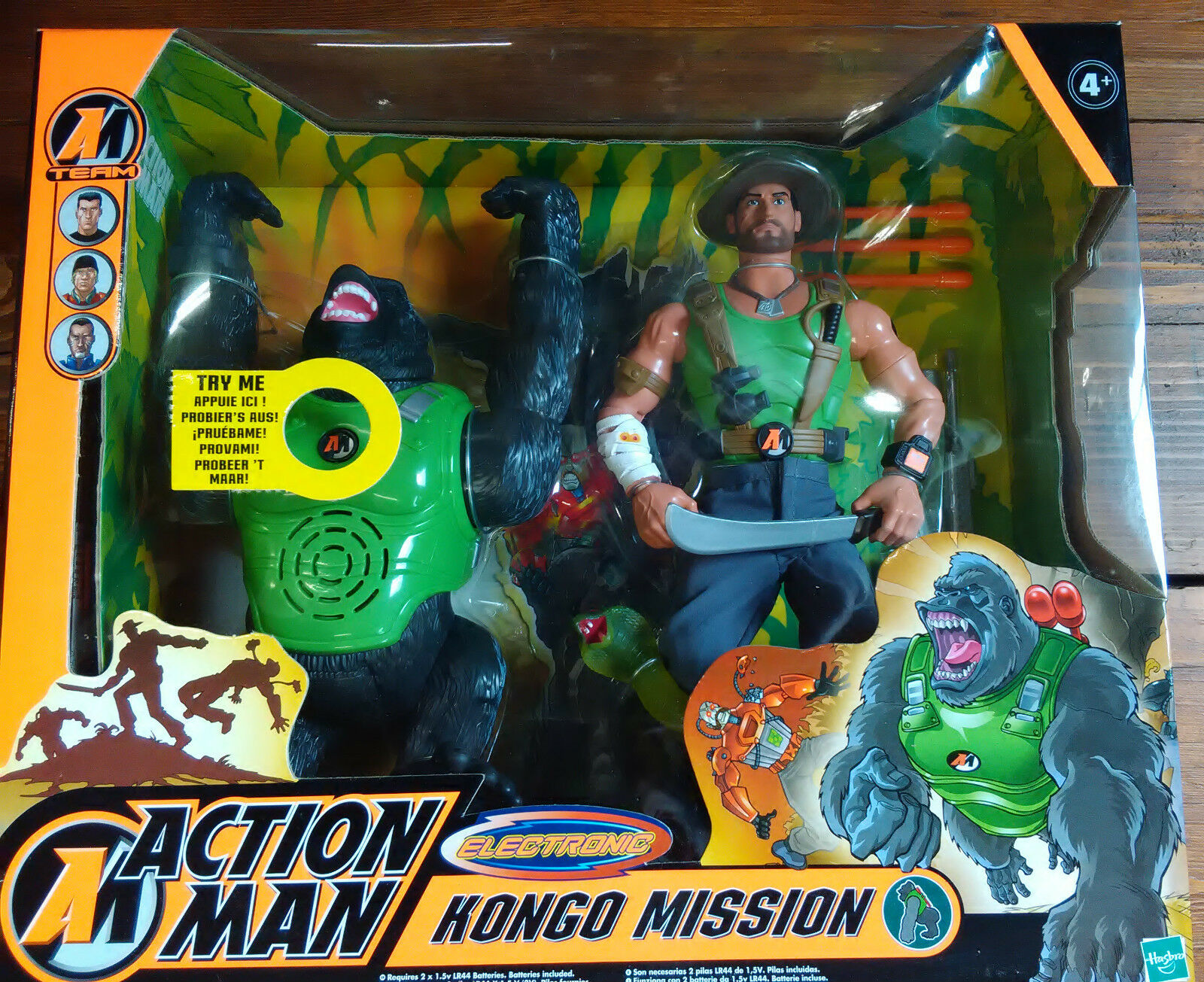 ACTION MAN - ELECTRONIC - HONGO MISSION - HASBRO - 2003