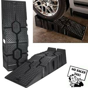 Details about 16000 LB Heavy Duty Plastic Ramps Truck SUV Trailer Car Oil  Change Lift Tool New