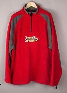 Ski-Doo Hommes Vintage 90s Fermeture Cou Polaire Pull Taille 2XL (XXL) BDZ1006