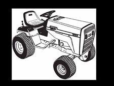 MASSEY FERGUSON MF 1855 PARTS MANUAL for MF1855 Garden Tractor Service & Repair