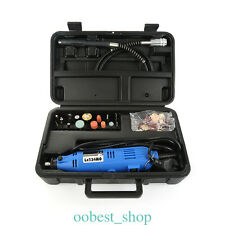 40PCS/Set Mini Electric Drill Grinder Set Engraving Polishing Tool Kit W/Shaft