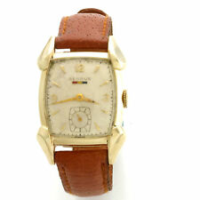 17 JEWEL YELLOW GOLD FILED BENRUS WATCH CA1950S