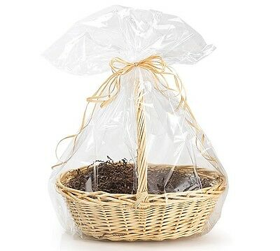 """*YOU CHOOSE QTY!* 24""""x30"""" Crystal Clear Large GIFT BASKET BAGS Cello Drop-In"""