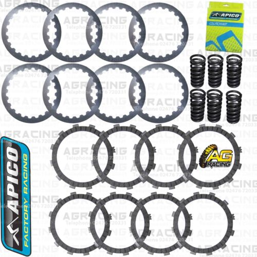 Apico Clutch Kit Steel Friction Plates /& Springs For Husaberg TE 300 2011-2012