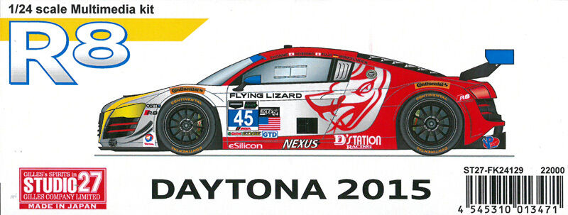 Studio27 1 24 R8 Daytona 2015 1 24 Multimedia Set