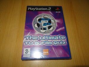 The-Ultimate-Tv-amp-Film-Quiz-Playstation-2-PS2-Nuovo-e-Sigillato-Versione-Pal