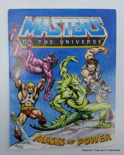 YOUR CHOICE Masters of the Universe Vintage MOTU He-Man #1 MINI COMIC BOOK