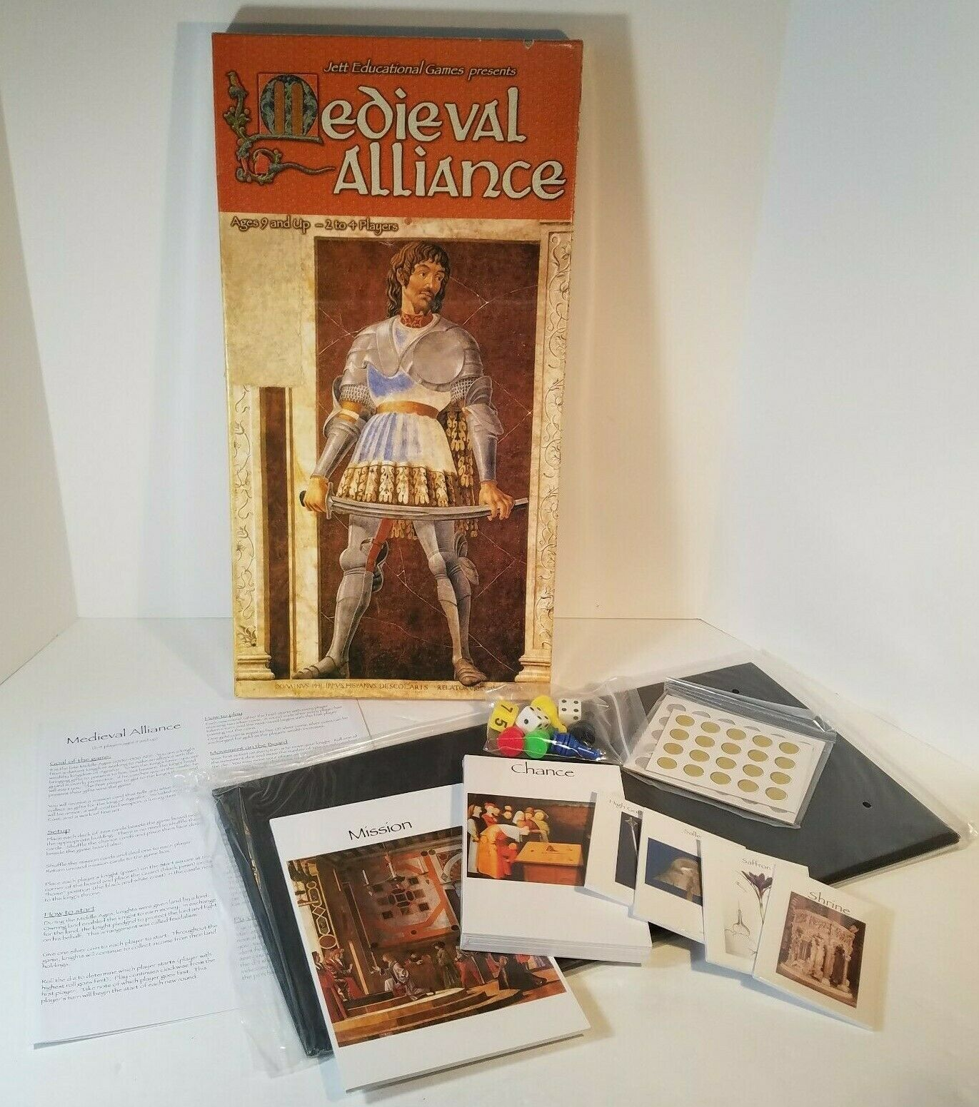 Medieval Alliance Board Game by Jett Educational