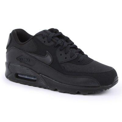 Nike Air Max 90 Essential NoirNoir (Z11) 537384 090 Baskets Homme Toutes Tailles | eBay