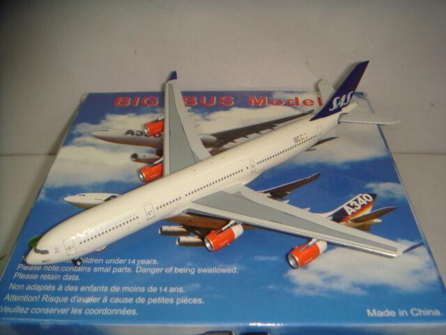 Aeroclassics 400 Special Air Service Scandinavian Airlines A340-300  1999 S couleur  1 400