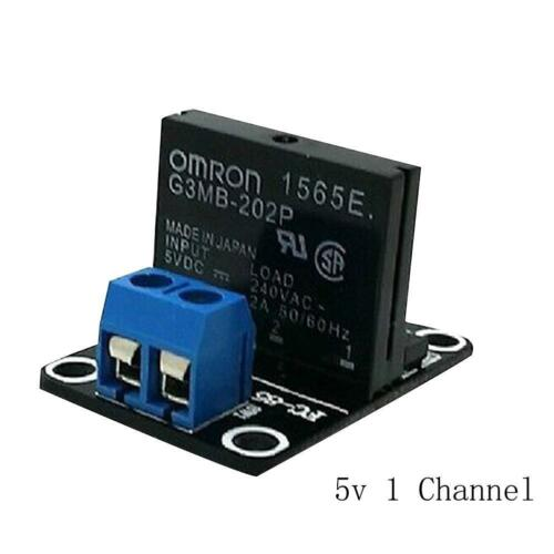5V 1//2//4//8 Channel OMRON SSR G3MB-202P Solid State Relay Module new S0M8