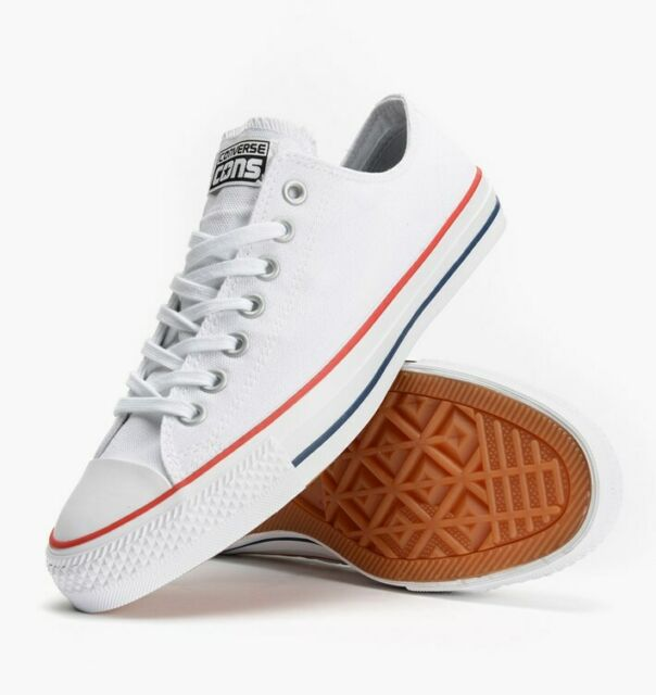 Cons Shoes CTAS PRO LOW White Red Insignia Blue US Converse Skateboard Sneakers
