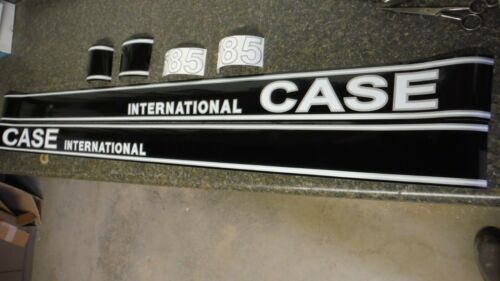 ALL DECALS ON THE HOOD C-DETAILS /& PICS CASE INTERNATIONAL 885 TRACTOR DECALS