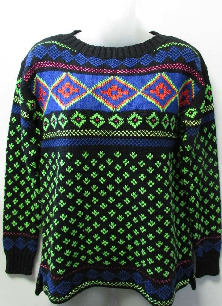 145 NWT LAUREN Ralph Lauren Nordic Ski Knit Sweater Sizes S M L XL