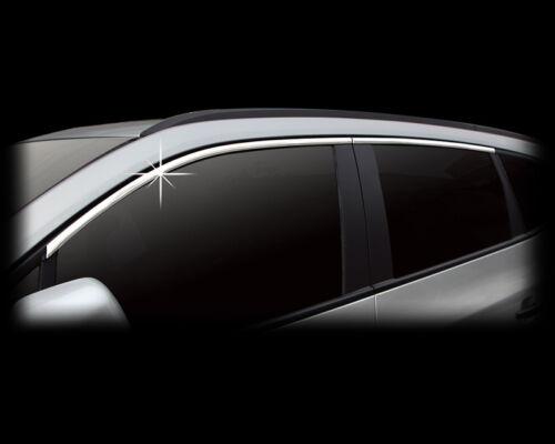 Zubehör für Chevrolet Orlando obere Fensterleisten Chrom Molding Leisten Tuning