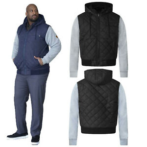 5f5e382efdd0 Duke D555 Mens King Size Willie Hooded Jacket Big Tall Quilted ...