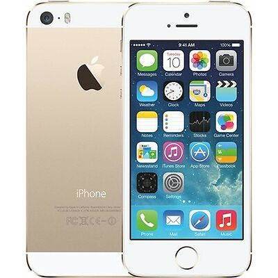 Apple iPhone 5s 64GB Gold Imported