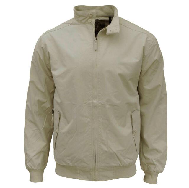 Soul Star Men's Hayes Harrington Casual Jacket Beige