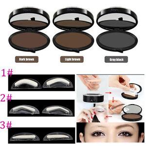 Optionnel-Sourcil-Poudre-Palette-Modele-Estampe-Anti-sueur-Etanche-Maquillage