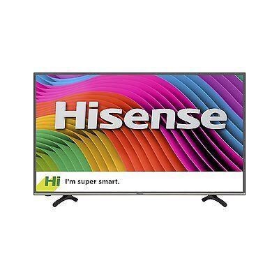 Hisense 50 Inch Ultra HD Smart LED TV, w/ Wi-Fi, 4 HDMI, 2016 Model - 50H7C2