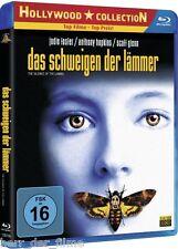 DAS SCHWEIGEN DER LÄMMER (Jodie Foster, Anthony Hopkins) Blu-ray Disc NEU+OVP