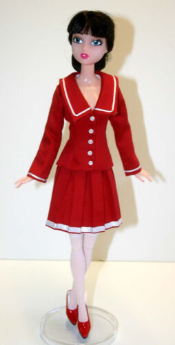 """Manga Doll Clothes Sewing Pattern for 15.75/"""" City Girl Dolls Tonner"""