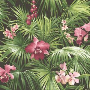 Essener-Tapete-Global-Fusion-G56435-ORCHIDS-FLOWERS-FLOWERS-FLEECE-Wallpaper