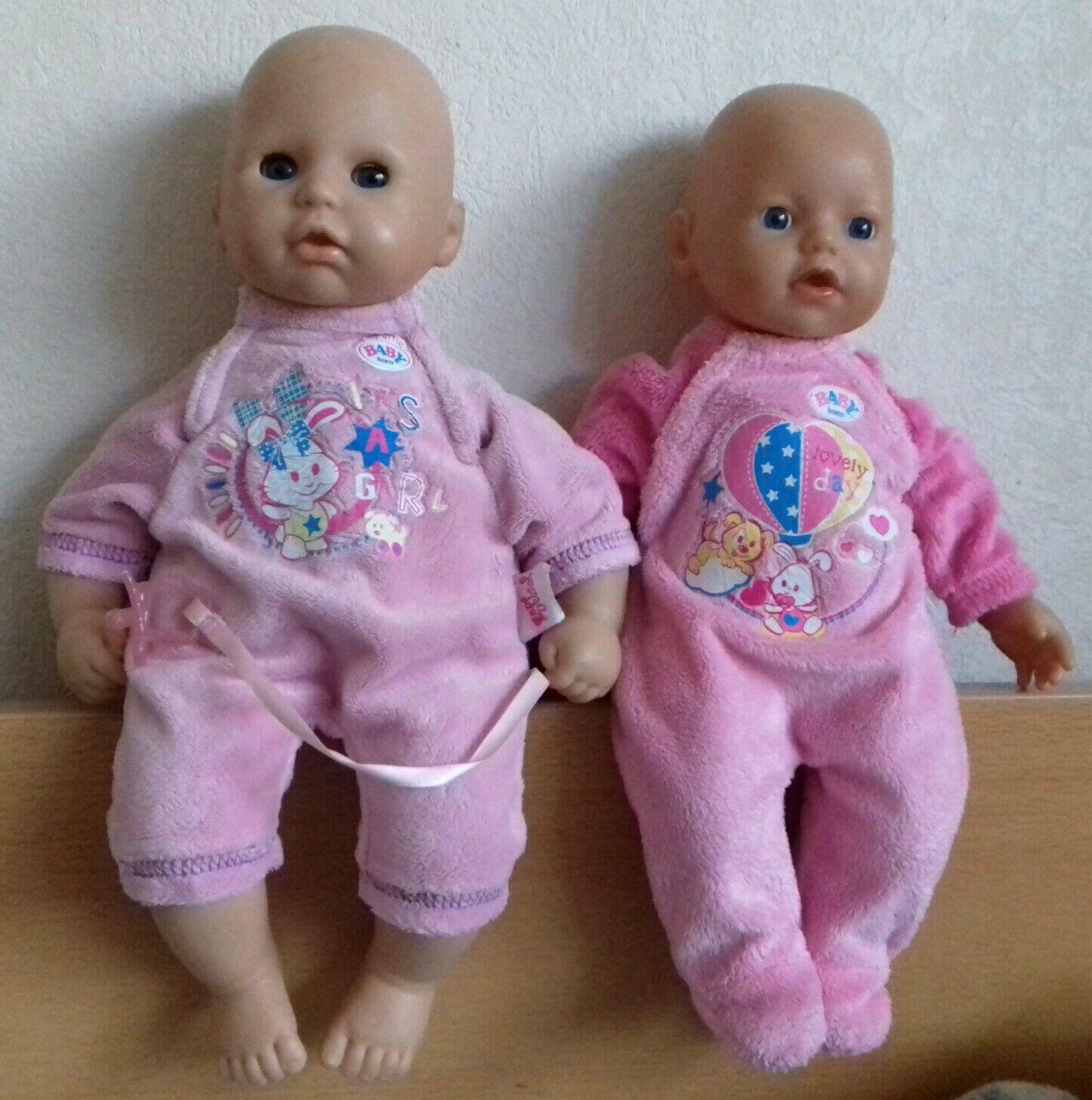 2 Baby Born Puppen, Zapf Creation, gut erhalten | eBay