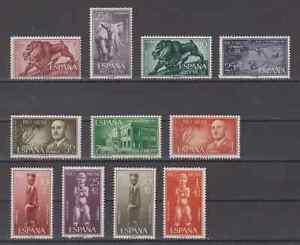 RIO-MUNI-ESPANA-ANO-1961-NUEVO-COMPLETO-MNH-SPAIN-EDIFIL-18-28
