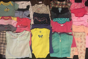 EUC-Adorable-Baby-Girls-Fall-Winter-CLOTHES-LOT-Outfits-Set-0-3-Months-Lot-8