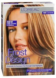 L Oreal Frost Design Highlights H65 Caramel 1 Each 71249082171 Ebay