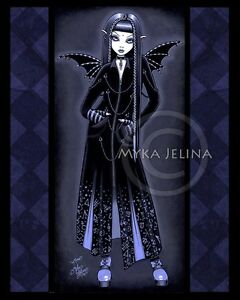 Vampire-Blue-Alchemical-Gothic-Fairy-Signed-Print-Black-Fae-Mina-Myka-Jelina-Art