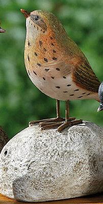 Rostdeko Vogel Drossel